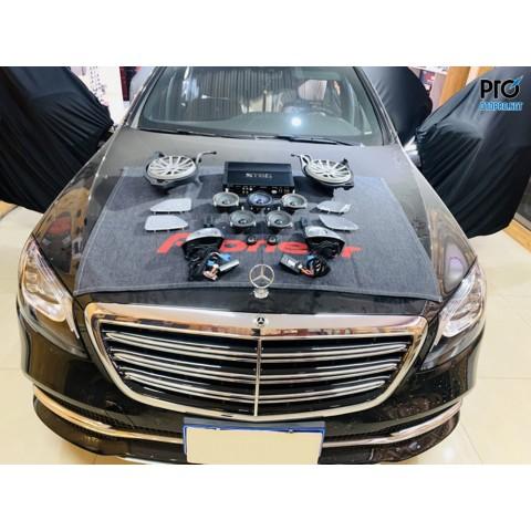 Mercedes-Benz S350 nâng cấp hệ thông âm thanh loa STEG