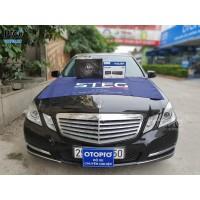 Mercedes E300 lắp đấu phát Hi-Res Alpine UTX-M08 & Sub điện DLS ACW10