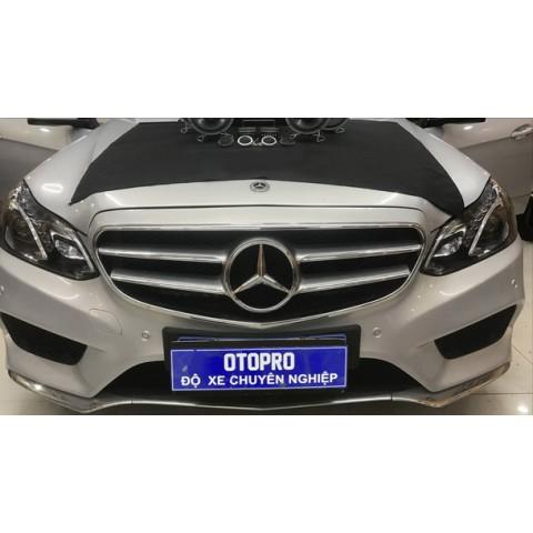Mercedes E300 nâng cấp hệ thống âm thanh loa STEG