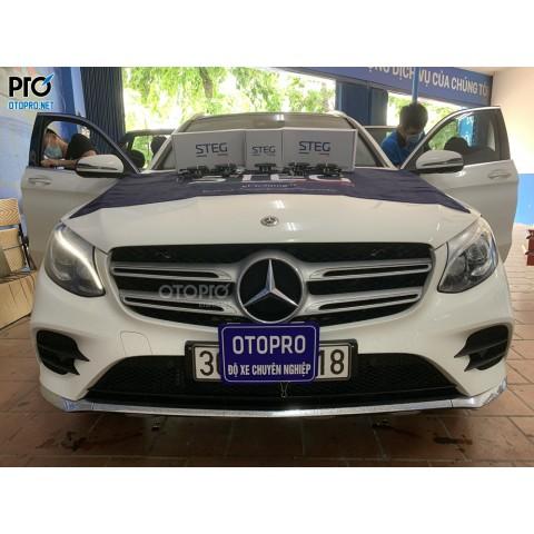 Mercedes GLC 300 nâng cập hệ thống loa STEG BZ40Aii