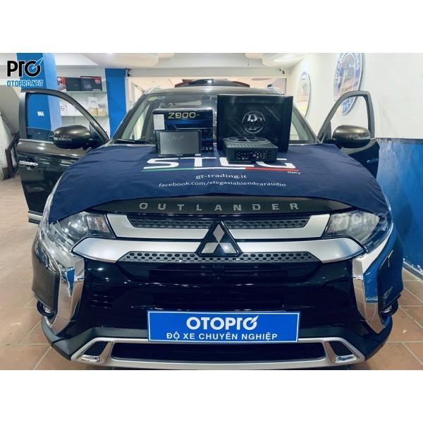Mitsubishi Outlander 2020 lắp loa sub điện DLS ACW10