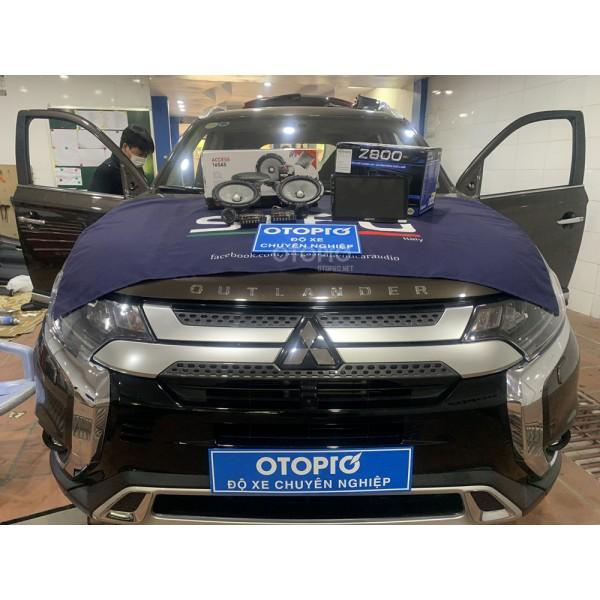 Mitsubishi Outlander 2020 nâng cấp hệ thống loa Focal Access 165 AS