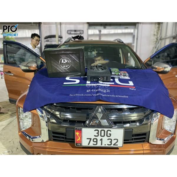 Mitsubishi Xpander Cross lắp loa sub điện DLS ACW10