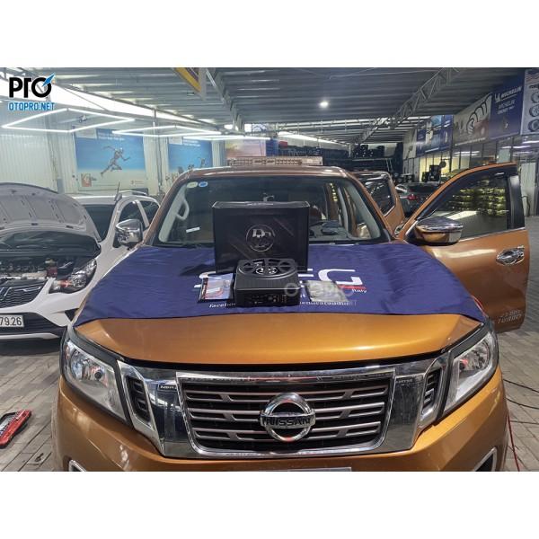 Nissan Navara lắp loa sub điện DLS ACW10