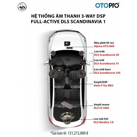 Cấu hình âm thanh 3-way full-active DLS Scandinavia 1