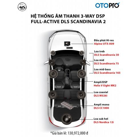Cấu hình âm thanh 3-way full-active DLS Scandinavia 2