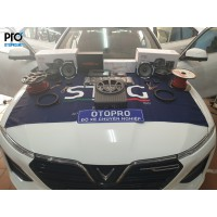 Vinfast Lux A nâng cấp hệ thống âm thanh loa Focal PS 165 V1