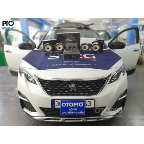 Peugeot 3008 nâng cấp hệ thống âm thanh loa Focal, Sub DLS