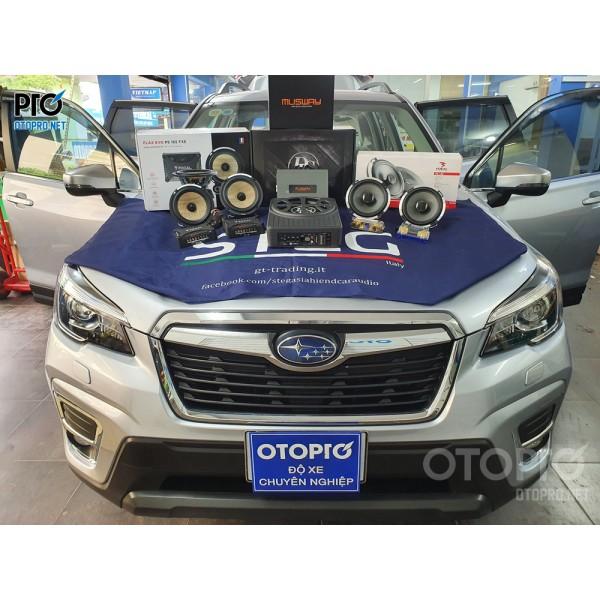 Subaru Forester 2020 nâng cấp hệ thống âm thanh loa Focal