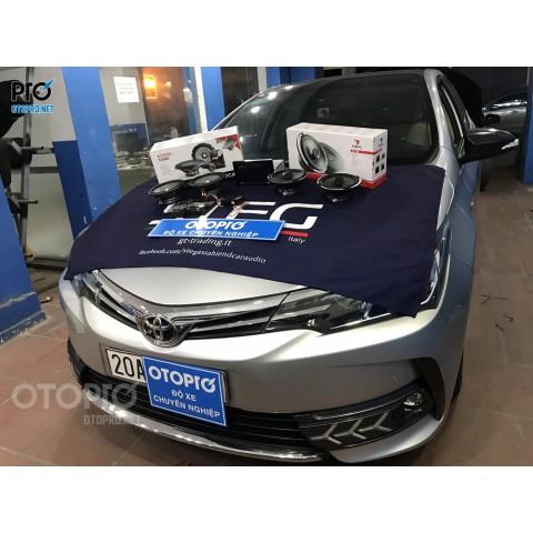 Toyota Corolla Altis nâng cấp hệ thống âm thanh loa Focal 2