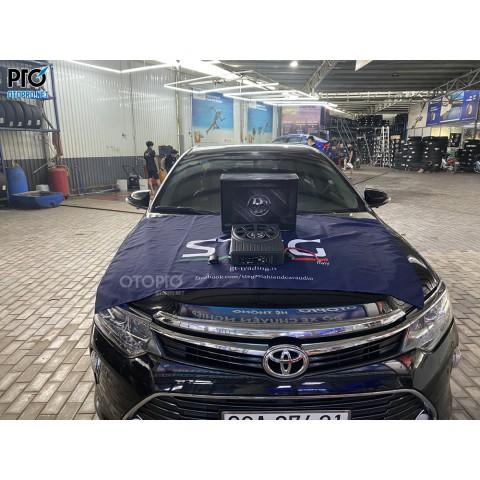 Toyota Camry 2018 nâng cấp loa sub điện DLS ACW10