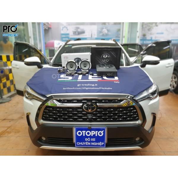 Toyota Corolla Cross nâng cấp hệ thống âm thanh loa Focal 165 V1