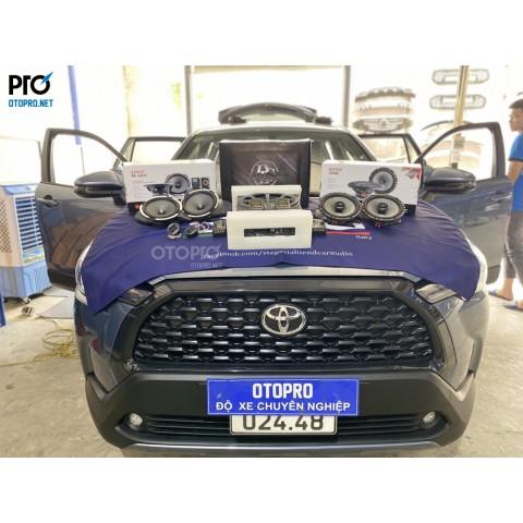 Toyota Cross nâng cấp hệ thống âm thanh loa Focal