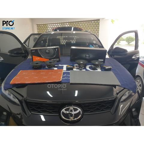 Toyota Fortuner 2021 nâng cấp hệ thống âm thanh loa DLS MK6.2i