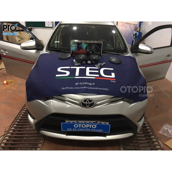 Toyota Vios 2015 nâng cấp loa Focal RSE 165