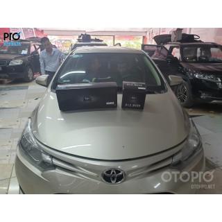 Toyota Vios 2016 nâng cấp hệ thống âm thanh loa DLS