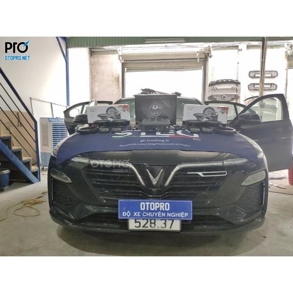 VinFast Lux A nâng cấp hệ thống âm thanh loa Focal 165 AS