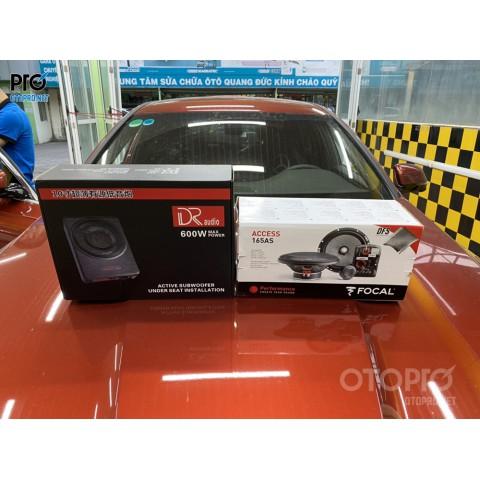 VinFast Lux A nâng cấp hệ thống âm thanh loa Focal, DRaudio