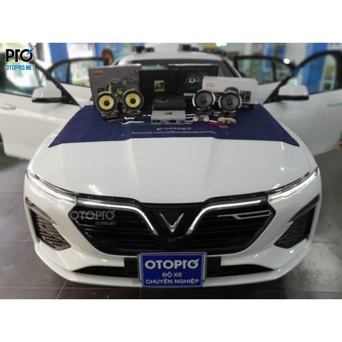 VinFast Lux A nâng cấp hệ thống âm thanh loa Focal ES 165 K