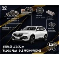 VinFast Lux SA nâng cấp hệ thống âm thanh loa 3-WAY DLS SCANDINAVIA