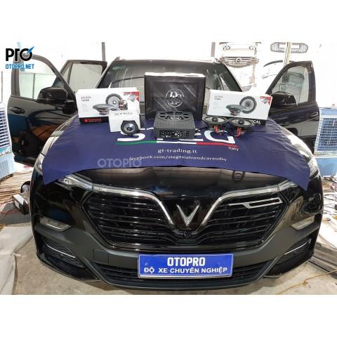 Vinfast Lux SA nâng cấp hệ thống âm thanh loa Focal 165 AS