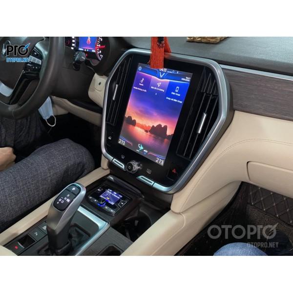 VinFast Lux SA nâng cấp hệ thống đầu phát nhạc Alpine UTX A09