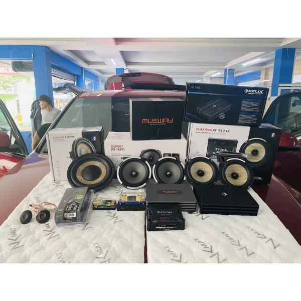 VinFast LUX SA nâng cấp cấu hình âm thanh Focal