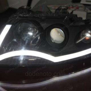 Độ LED mí khối cho xe Audi A4