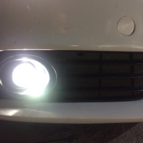 Audi A4 độ Bi Gầm, bóng Xenon Venture 4300k