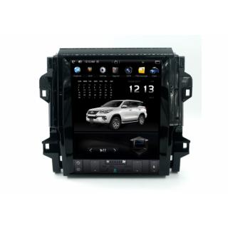 Đầu màn hình android DVD ô tô tesla xe Toyota Fortuner