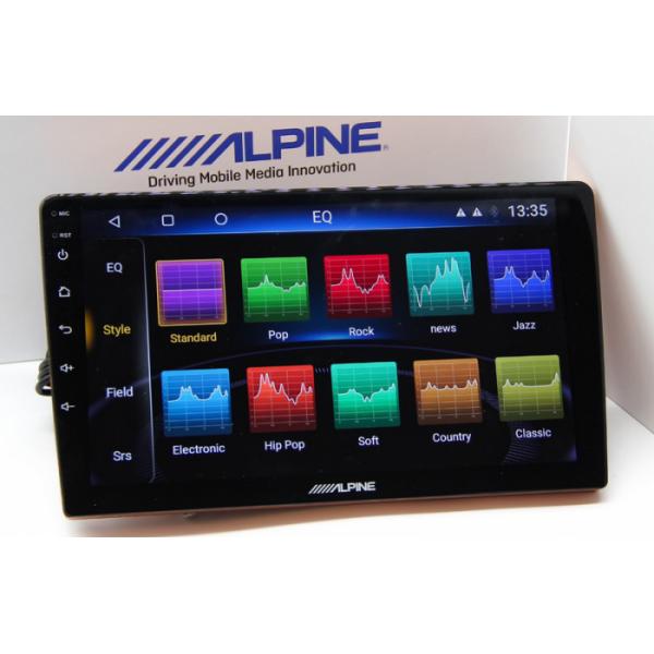 Đầu màn hình Android ô tô Alpine INE-AS610 4G LTE