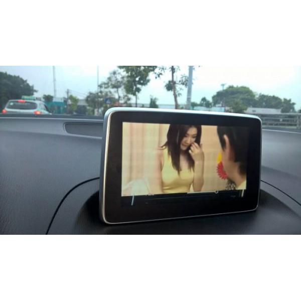 Cài đặt tiếng việt và xem video hình cho xe Mazda 3
