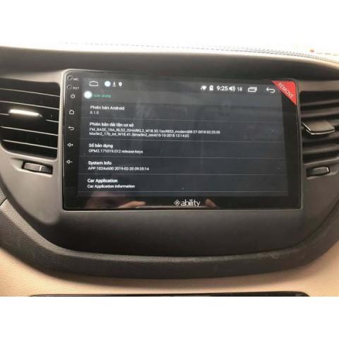 Đầu màn hình android Ability cho xe Hyundai Tucson