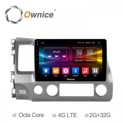 Đầu màn hình android DVD ô tô Ownice cho xe Honda Civic