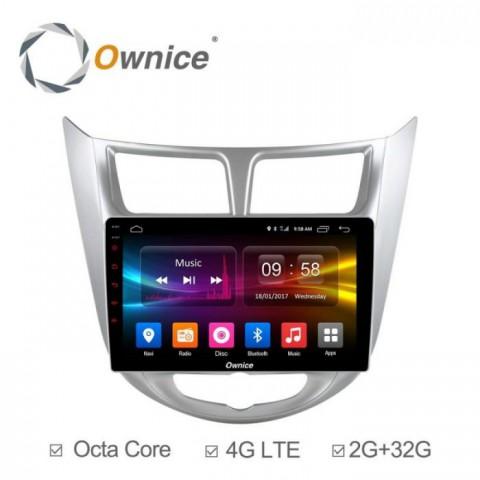 Đầu màn hình android DVD ô tô Ownice C500+ cho xe Hyundai Accent