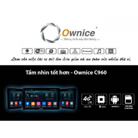 Đầu màn hình DVD android Ownice C960J