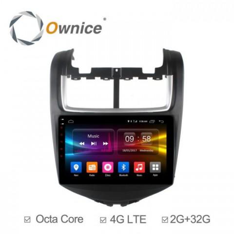 Đầu màn hình android DVD ô tô Ownice C500+ cho xe Chevrolet Aveo