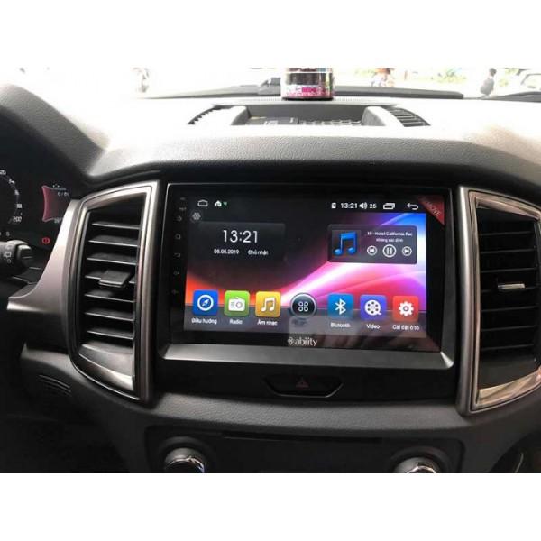 Đầu màn hình android DVD ô tô Ability cho xe Ford Raptor
