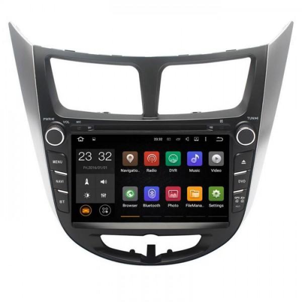 Đầu màn hình android DVD ô tô cho xe Hyundai Accent