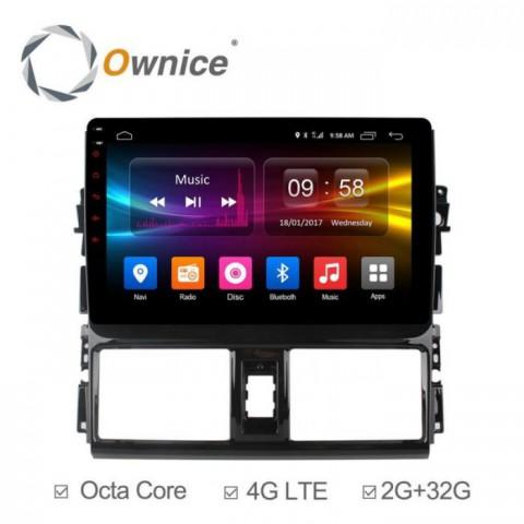 Đầu màn hình android DVD ô tô Ownice C500+xe Toyota Vios