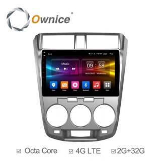 Đầu màn hình android DVD ô tô Ownice C500+ cho xe Honda City