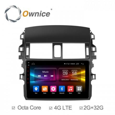 Đầu màn hình android DVD ô tô Ownice cho xe Toyota Corolla Altis