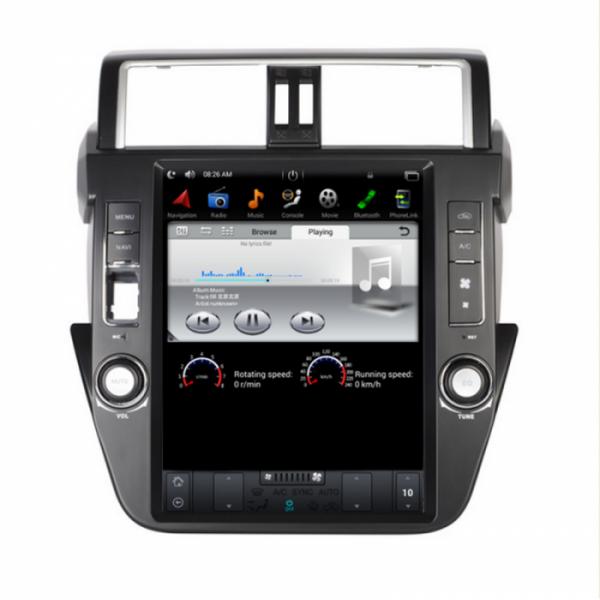 Đầu màn hình android DVD ô tô Tesla cho xe Toyota Prado