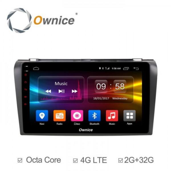 Đầu màn hình android DVD ô tô Ownice cho xe Mazda 3