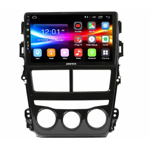 Đầu màn hình DVD Android Zestech cho xe Toyota Vios