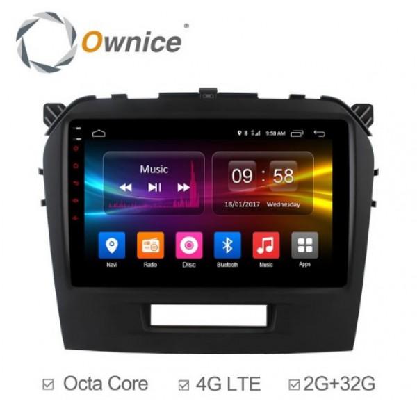 Đầu màn hình android DVD ô tô Ownice C500+ cho xe Suzuki Vitara