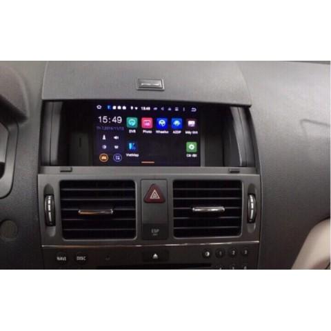 Màn hình android DVD cho xe Mercedes C200
