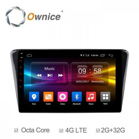 Đầu màn hình android DVD ô tô Ownice C500+ cho xe Paugeot 4008