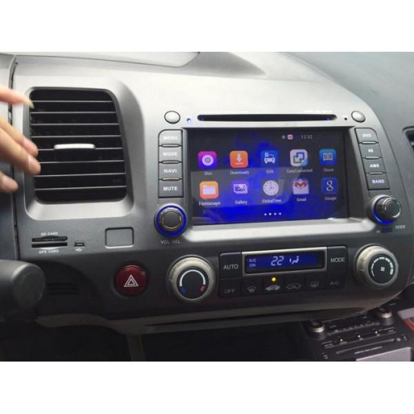 Màn hình android DVD cho xe Honda Civic