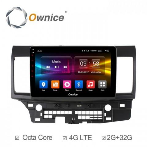 Đầu màn hình android DVD ô tô Ownice C500+ cho xe Mitsubishi Lancer